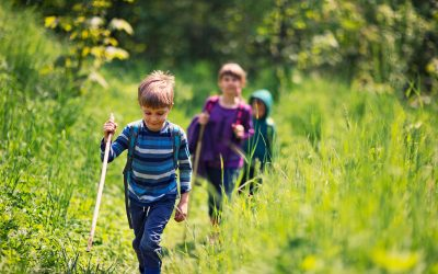 7 basistips voor het voorbereiden van een wandeling met kinderen