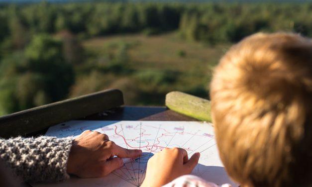 Leer je kind met een leeftijd van 3 tot 6 jaar oud een kaart te lezen