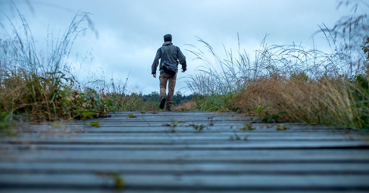 Wandelen in de regen: een ervaring om te ontdekken