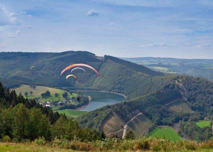 mooie uitzicht in de Ardennen