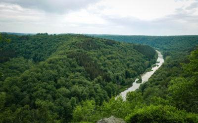Mooie panorama's in de Ardennen die een klimmetje waard zijn