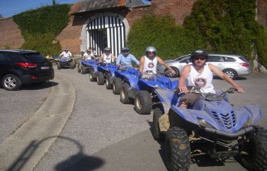 Formul'Quads-Sports Aventure tot Provincie Luik