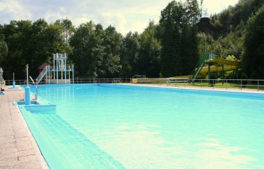 <p>Piscine en plein air: Mon Repos</p>-Piscine plein air tot Provincie Luik