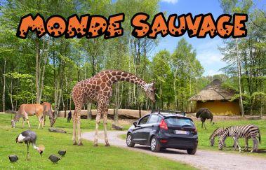 Le Monde Sauvage d'Aywaille-Parcs-animaliers tot Provincie Luik