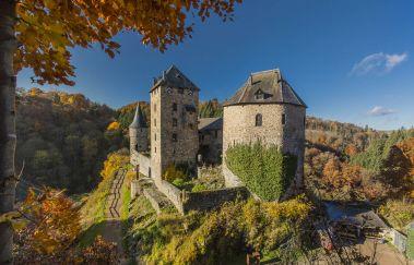 Kasteel van Reinhardstein -Chateaux tot Provincie Luik