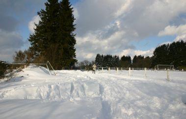 Skipiste van Béniké-Ski de fond tot Provincie Luik