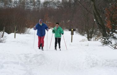 Skipiste van Mont Rigi-Ski de fond tot Provincie Luik