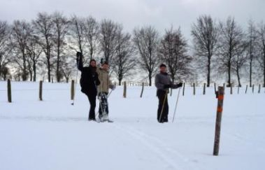 Skipiste van het Sportcentrum Worriken-Ski de fond tot Provincie Luik
