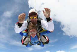 Skydive Spa in Provincie Luik