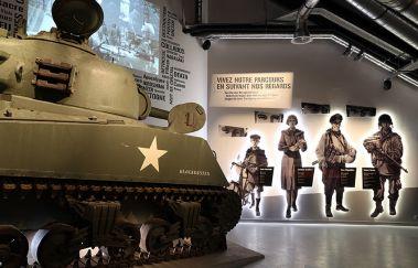 Bastogne War Museum-Musée tot Provincie Luxemburg