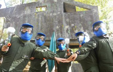 Gaume Paintball-Paint-ball tot Provincie Luxemburg
