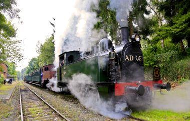 Chemin de Fer à Vapeur des 3 Vallées-Train touristique tot Provincie Namen
