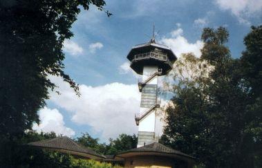 Drielandenpunt en Panoramische Toren-Point de vue tot Provincie Luik