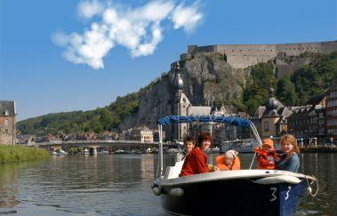 <p>Dinant Evasion: Bateaux sans permis</p>-Location de bateaux tot Provincie Namen