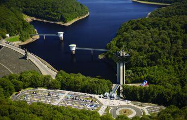 <p>Het Gileppe meer</p>-Centre Aquatique tot Provincie Luik