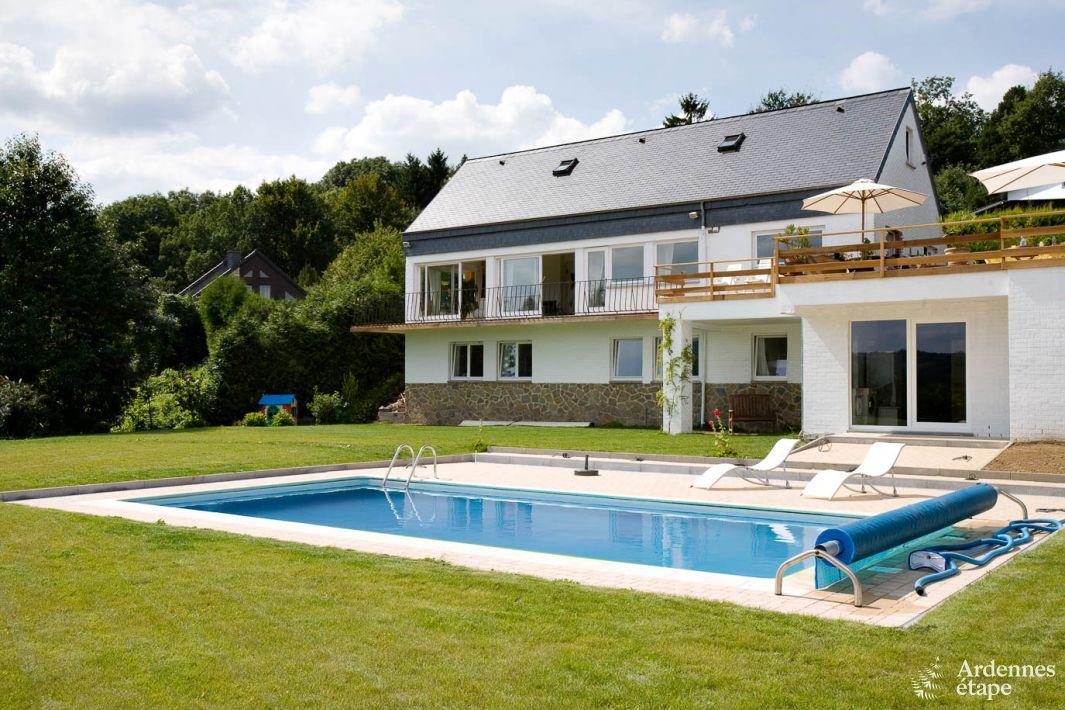 Luxueuse villa met zwembad en sauna in aywaille ardennen for Luxe villa met zwembad