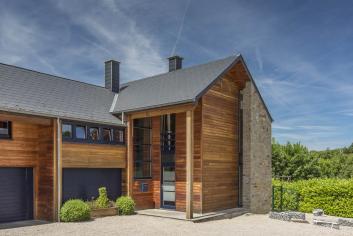 Luxe en comfort voor 9 personen in hedendaagse villa Bomal-sur-Ourthe