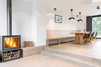 Hedendaagse vakantieappartement in Büllingen met privé sauna