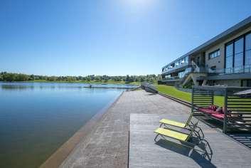 Zeer luxueus appartement met subliem zicht op het meer van Butgenbach