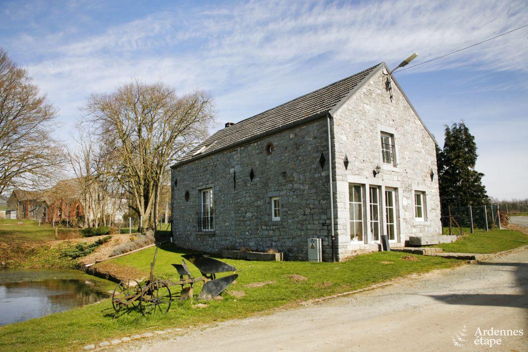 Charmant vakantiehuisje op de boerderij met grote tuin in for Boerderij te koop ardennen