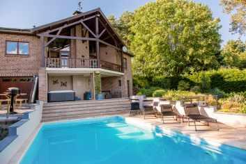 Vakantievilla nabij Durbuy met authentieke en moderne inrichting