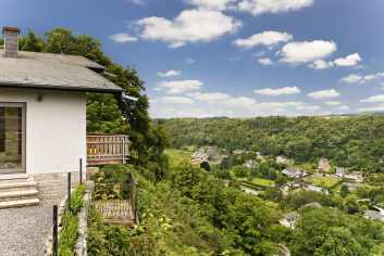 4,5-sterren villa met uitzicht en sauna te huur voor vakantie in Durbuy