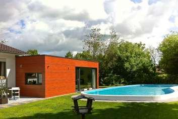 Vakantiehuis met zwembad in de tuin voor 2/4 personen te huur in Eupen