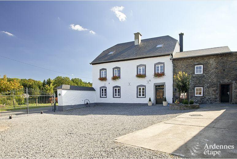 Vakantiehuis voor 23 personen te huur in gouvy in de provincie luxemburg