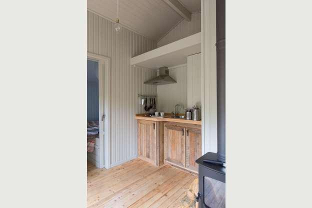 Chalet voor 4 personen voor verblijf in idyllisch kader in houffalize - Keuken voor chalet ...