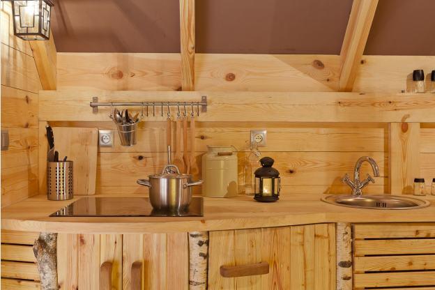 Onvergetelijke chalet in houffalize voor 2 personen om te herbronnen - Keuken voor chalet ...