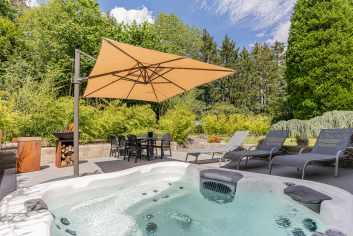 Vakantiehuis voor 4/6 personen op een privédomein met manege in Libramont