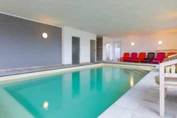 Sfeervol vakantiehuis voor 9 personen met binnenzwembad en wellness in Malmedy