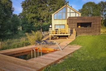 Modern vakantiehuisje voor 4/5 p. in de Ardennen