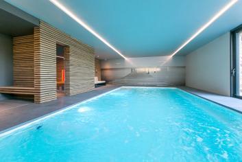 Luxueus 4,5-sterren vakantiehuis met zwembad te huur in Ohey