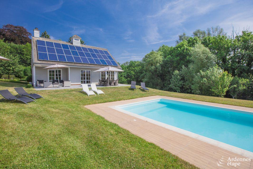 prachtig vakantiehuis voor 8 personen met zwembad in rochefort On vakantiehuis 8 personen met zwembad