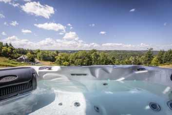 Vakantiehuis met panoramisch uitzicht in Rochehaut voor 8 personen in de Ardennen