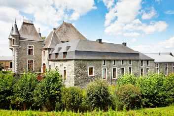 Landelijk vakantiehuis voor 7 personen in een schitterende kasteelhoeve in Saint-Ode