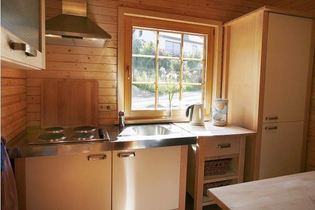Comfortabel en sfeervol chalet voor 8 personen te huur in stavelot - Keuken voor chalet ...