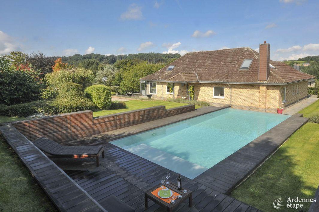 4 sterren villa met luxe uitrusting te huur op de hoogten van theux - Decoratie van de villas ...