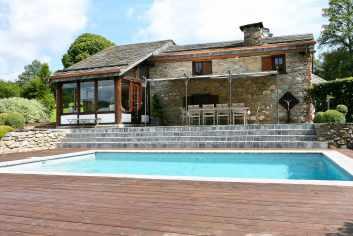 Luxueuze cottage met zwembad en sauna te huur in Trois-Ponts